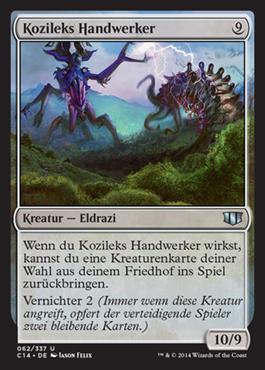 Kozileks Handwerker