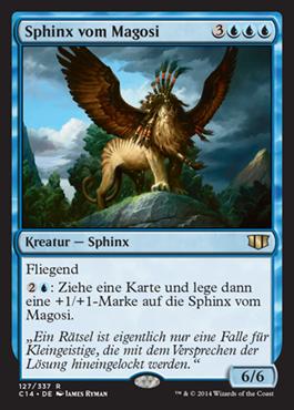 Sphinx vom Magosi