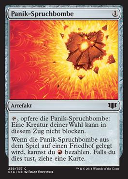 Panik-Spruchbombe