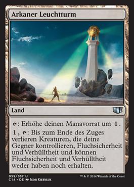 Arkaner Leuchtturm