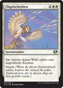Flügelscherben