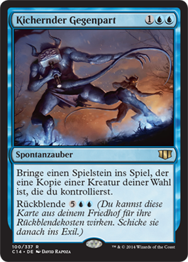 Kichernder Gegenpart