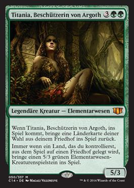 Titania, Beschützerin von Argoth
