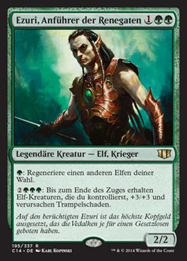 Ezuri, Anführer der Renegaten