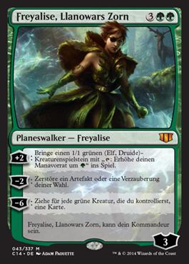Freyalise, Llanowars Zorn