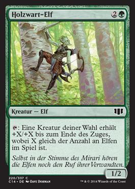 Holzwart-Elf