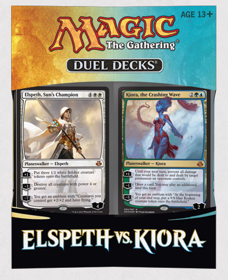 Magic the Gathering Elspeth vs. Kiora Duel Decks