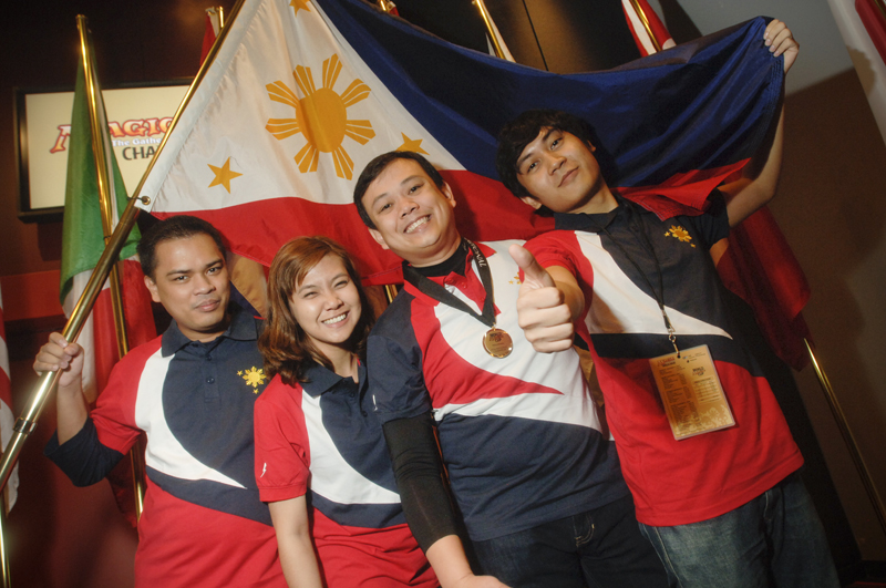 Team Philippines, captained by Jason Ascalon