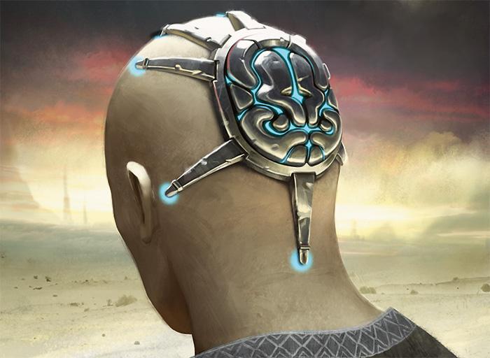 Image result for skullclamp art mtg