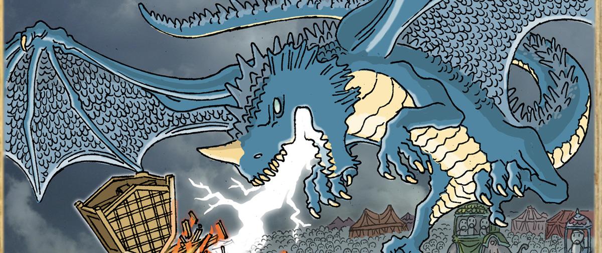 Blue Dragon | Dungeons & Dragons