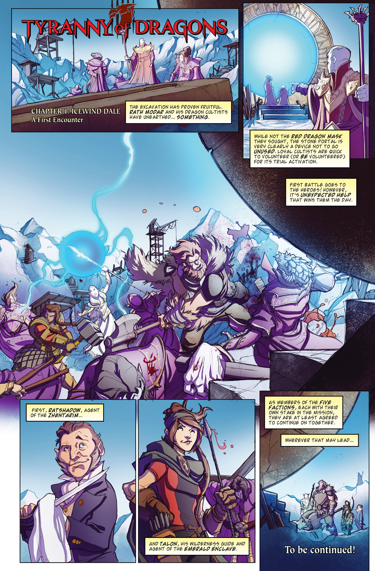 tyranny of dragons online comic 2 dungeons dragons