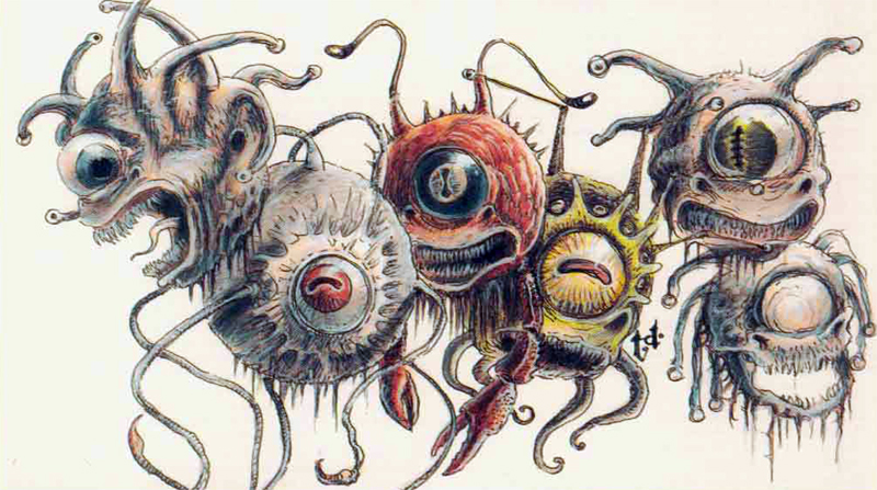 Monsters -- Beholder | Dungeons & Dragons