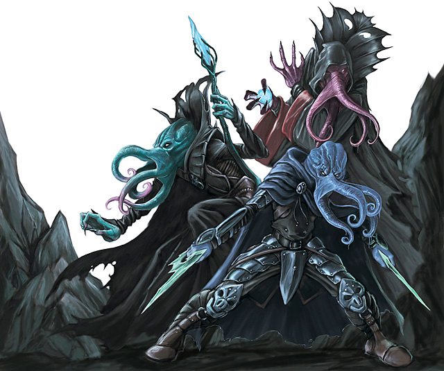 Monsters -- Mind Flayer | Dungeons & Dragons