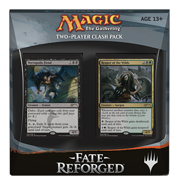 Magic the Gathering Fate Reforged 2-Player Clash Pack