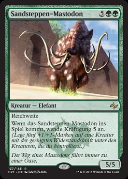 Sandsteppen-Mastodon