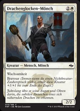 Drachenglocken-Mönch