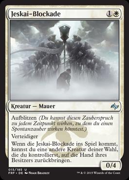 Jeskai-Blockade