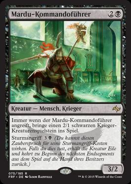 Mardu-Kommandoführer
