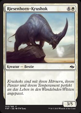 Riesenhorn-Krushok