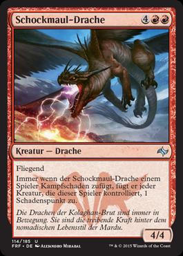 Schockmaul-Drache