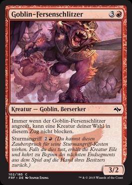 Goblin-Fersenschlitzer