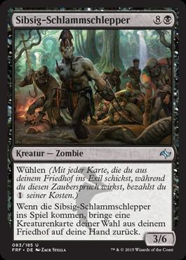 Sibsig-Schlammschlepper