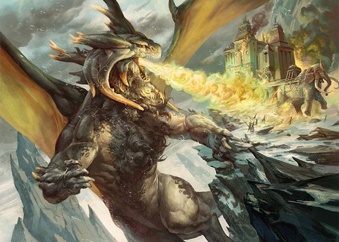 Stormbreath Dragon Art