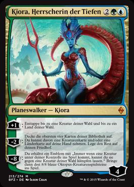Kiora, Herrscherin der Tiefen
