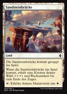 Sandsteinbrücke