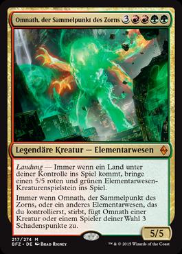 Omnath, der Sammelpunkt des Zorns