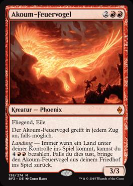 Akoum-Feuervogel