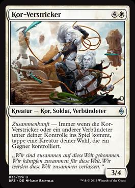 Kor-Verstricker
