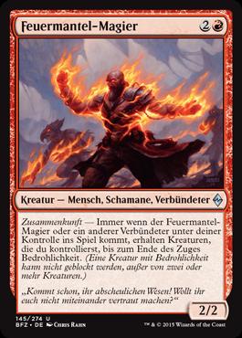 Feuermantel-Magier