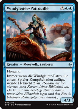 Windgleiter-Patrouille