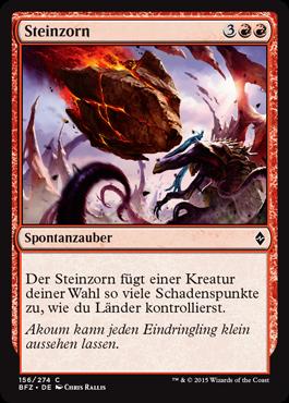 Steinzorn