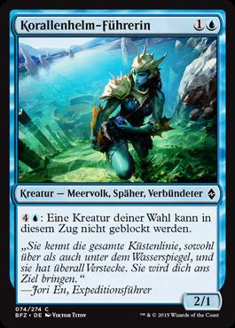 Korallenhelm-Führerin