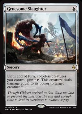 Gruesome Slaughter
