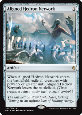 Aligned Hedron Network