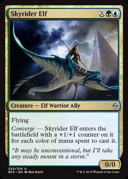 Skyrider Elf