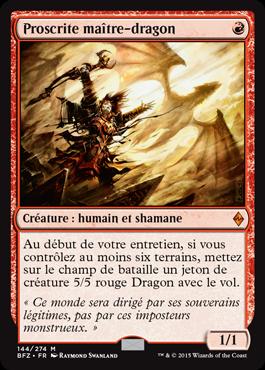 Proscrite maître-dragon