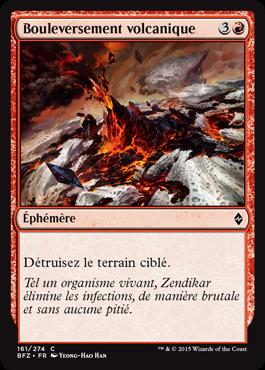 Bouleversement volcanique