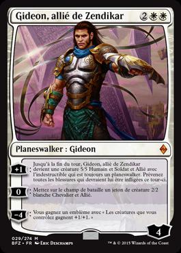 Gideon, allié de Zendikar