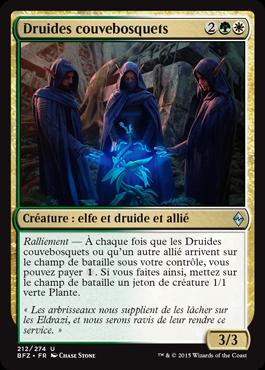 Druides couvebosquets