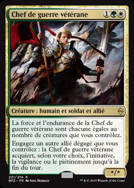 Chef de guerre vétérane