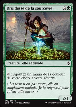 Druidesse de la sourcevie