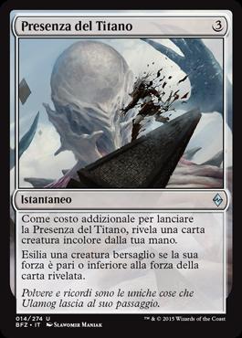 Titan's Presence