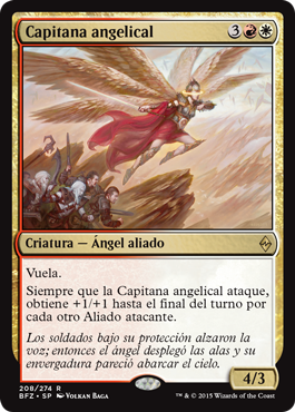 Capitana angelical