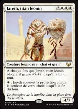 Jareth, titan léonin