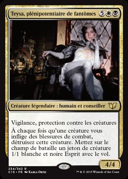 Teysa, plénipotentiaire de fantômes