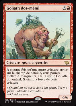 Goliath dos-ménil